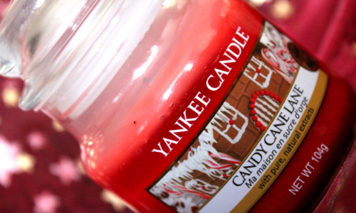 TEST: Yankee Candle  - Candy Cane Lane