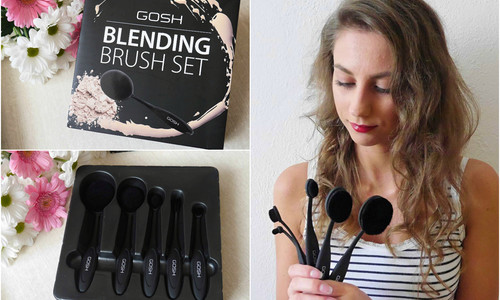 TEST: Gosh Blending brush set - sada štetcov na líčenie