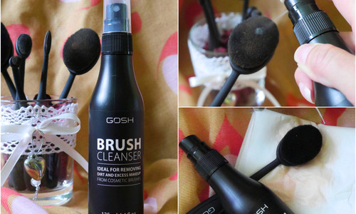 TEST: Gosh Brush Cleanser – čistič na štetce