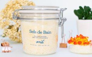 Vyhraj 4-krát soľ do kúpeľa Sels De Bain od kozmetiky GERnétic